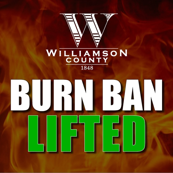 Burn Ban Lifted October 14