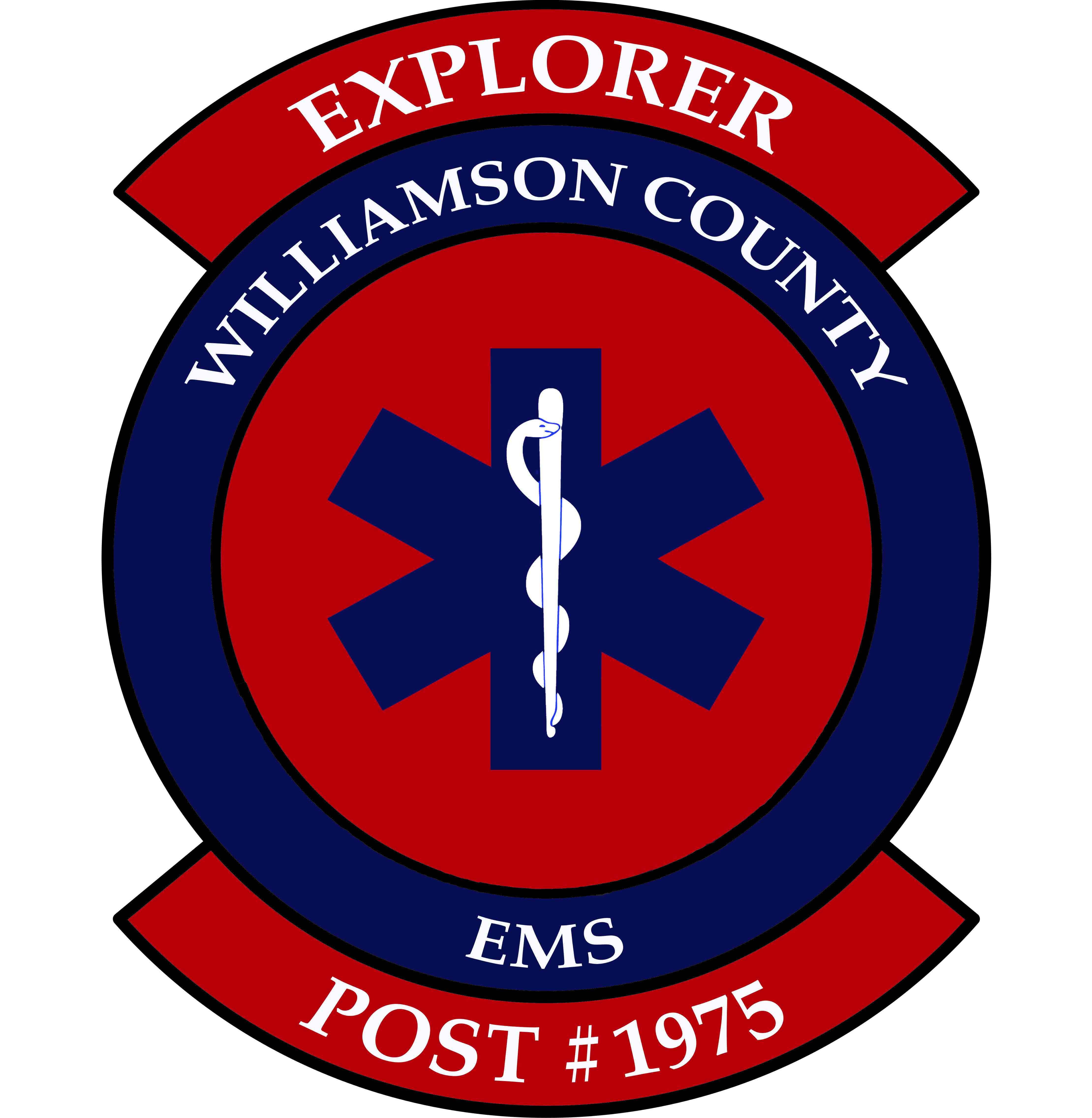 WCEMS Explorers Patch Web